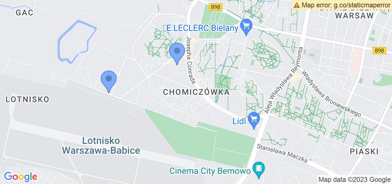 Osiedle Chomiczówka w Warszawie – w tych punktach ekspresowo wyślesz turbinę do autoryzowanego serwisu
