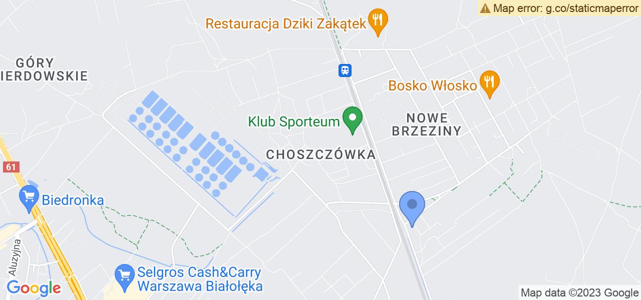 Osiedle Choszczówka w Warszawie – w tych punktach ekspresowo wyślesz turbinę do autoryzowanego serwisu