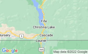 Map of Christina Lake RV Park