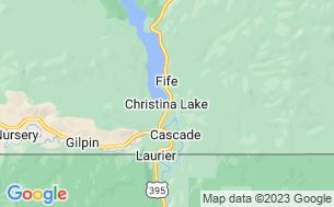 Map of Christina Lake RV Park