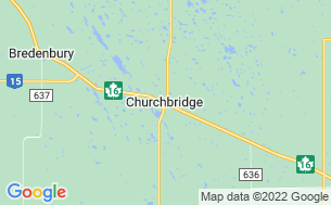Map of Churchbridge Campground