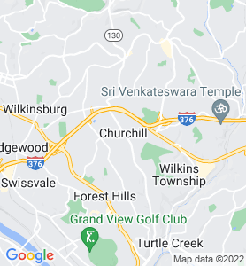 Churchill PA Map