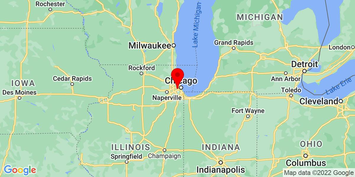 Google Map of Cicero, IL