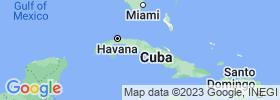 Cienfuegos map