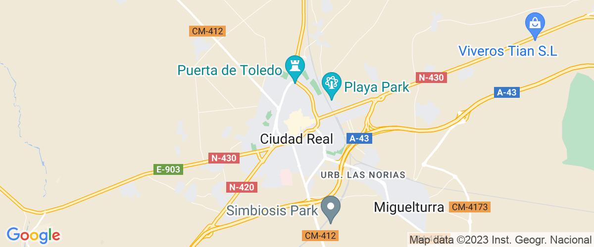 Mapa Ciudad-real