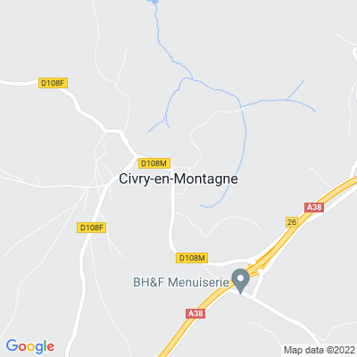 bed and breakfast Civry-en-Montagne