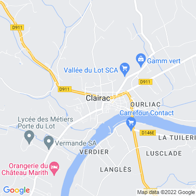 bed and breakfast Clairac