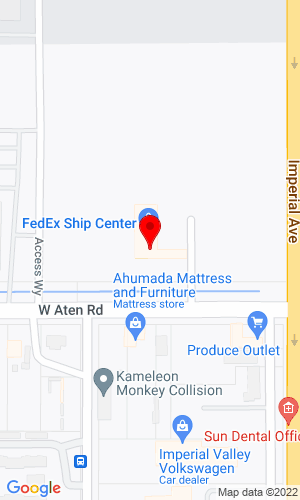 Google Map of Clairemont Equipment  440 West Aten Road, Imperial, CA, 92251