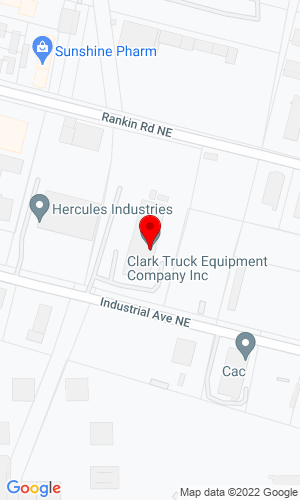 Google Map of Clark Truck Equipment Co. Inc. 501 Industrial Ave. NE, Albuquerque, NM, 87107