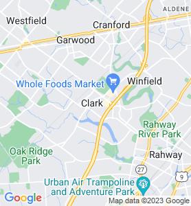Clark NJ Map