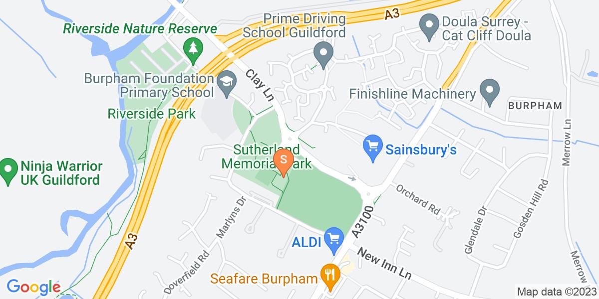 Google Map of Clay LaneJacob'S Well Guildford GU4 7JU