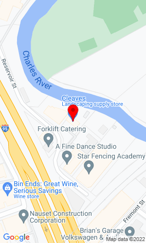 Google Map of Cleaves Company, Inc. 300 Reservoir Street, Needham , MA, 02494