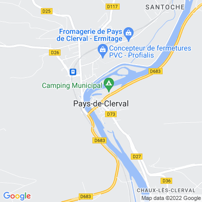 bed and breakfast Clerval