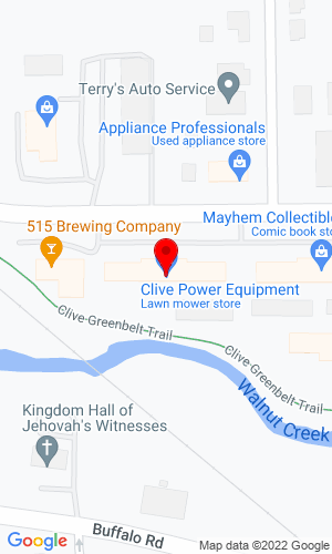 Google Map of Clive Power Equipment 7600 University Avenue  , Clive, IA, 50325,
