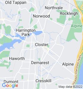 Closter NJ Map