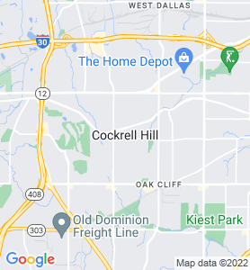 Cockrell Hill TX Map