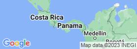 Coclé map
