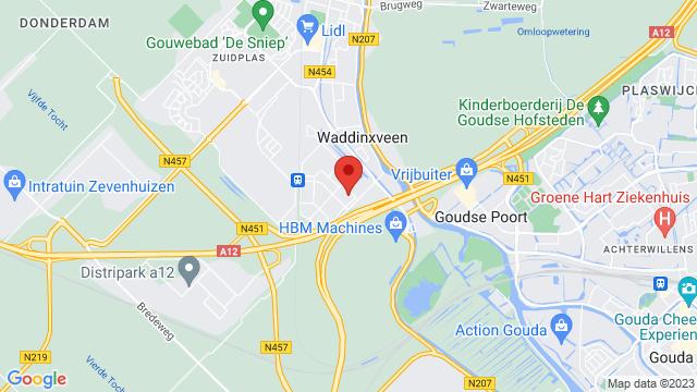 Van+der+Linden+Groep+Waddinxveen op Google Maps
