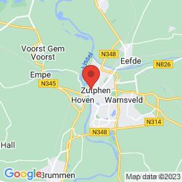 Google map of Het Koelhuis, Zutphen