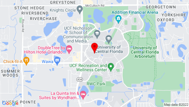 Google Map of College of Community Innovation and Education, Orlando, FL 32816