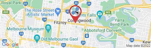 Collingwood google map