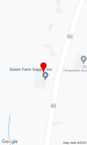 Google Map of Columbia Tractor Inc. 841 Route 9H, Claverack, NY,  12513,