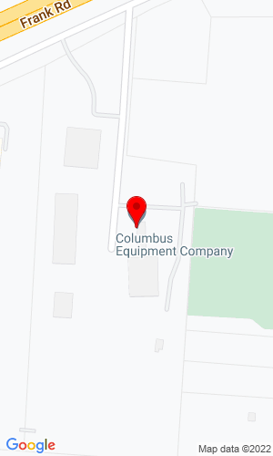 Google Map of Columbus Equipment Company 2329 Performance Way, Columbus, OH, 43207