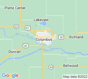 Job Map - Columbus, Nebraska 68601 US