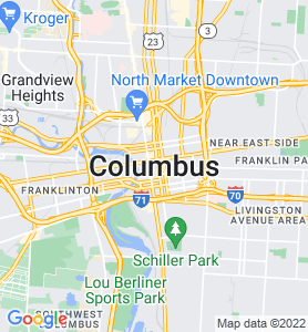 Columbus OH Map