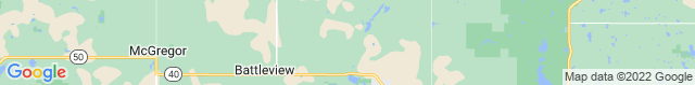 Map of ND