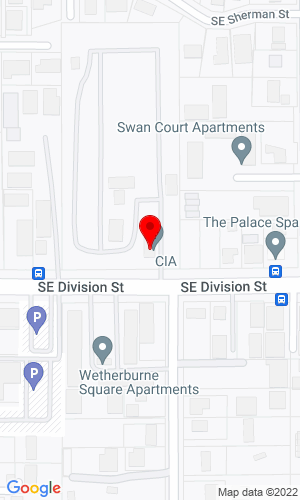 Google Map of Commercial Industrial Auctioneers 13231 SE Division St, Portland, OR, 97236