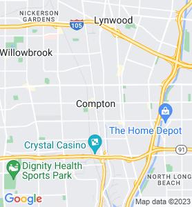 Compton CA Map