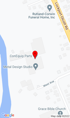 Google Map of ConEquip Parts 2712 West Ave, Newfane, NY, 14108