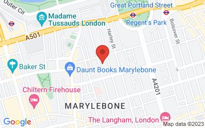 Map of LCRH Ltd LONDON