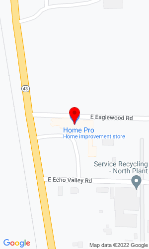 Google Map of Contractor Equipment Company 5932 North Main Street, Joplin, MO, 64801