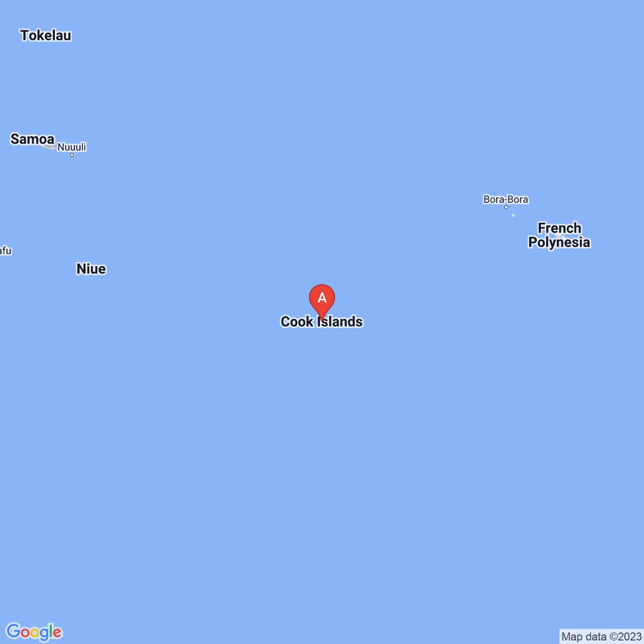 Cook Islands Map