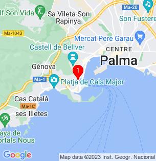 Google Map of Corb Mari, Palma de Mallorca, BALEARES, Spain