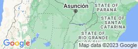 Corrientes map