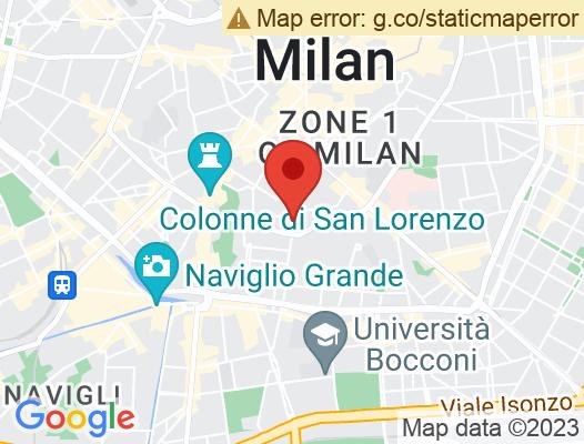 Google Map of Corso Italia 23  20122 Milano