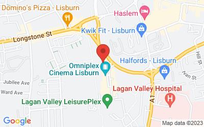 Map of Costa Lisburn Omniplex