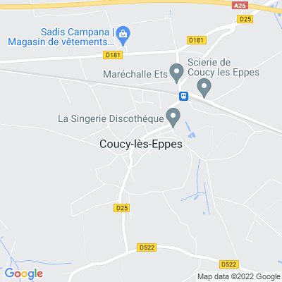 bed and breakfast Coucy-lès-Eppes