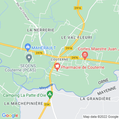 bed and breakfast Couterne