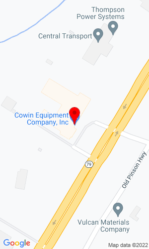 Google Map of Cowin Equipment Company, Inc. 2238 Pinson Valley Parkway, Birmingham, AL, 35217
