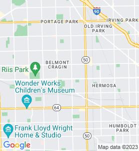 Cragin IL Map