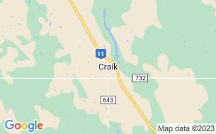Map of Craik & District Regional Park