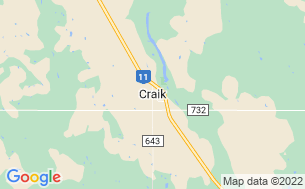 Map of Craik & District Regional Park