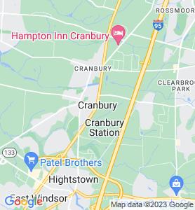 Cranbury NJ Map