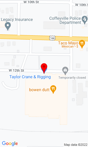 Google Map of Crane & Tractor, Inc. 1600 Harmon Ave, Columbus, OH, 43223
