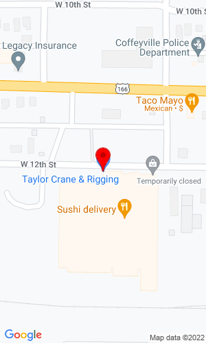 Google Map of Crane & Tractor, Inc. 1600 Harmon Ave, Columbus, OH, 43223,