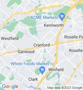 Cranford NJ Map